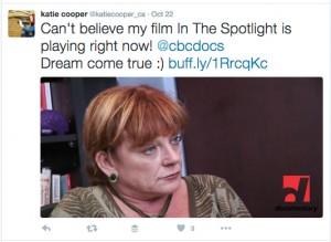 Live Tweet-CBC broadcast